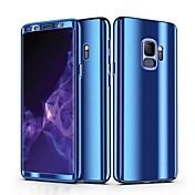 Etui Til Samsung Galaxy S9 S9 Plus Belegg Heldekkende etui Ensfarget Hard PC til S9 Plus S9 S8 Plus S8 S7 edge S7