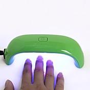 1 Pieza arte de uñas Secador del clavo y lámpara Mini Diseños de Moda / Luminoso Diario Nail Art Tool