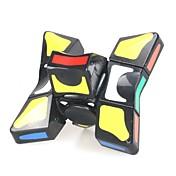 Cubo de rubik 9 piezas YIJIATOYS Twist Cube 3*3*3 Cubo velocidad suave Cubos mágicos Cubos de Rubik rompecabezas del cubo Juguetes de