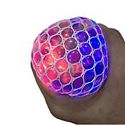 Stresslindrende leker Ball Stress og angst relief / LED Lys / Praktisk Grep 1 pcs Voksen Gave