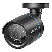 sannce® full 720p hd 1,0m ip66 værbestandig kamera med ir nattesyn overvåkingssystem holdbar hele sesongen