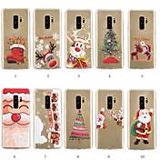 Funda Para Samsung Galaxy S9 Plus / S8 Plus Diseños Funda Trasera Navidad Suave TPU para S9 / S9 Plus / S8 Plus