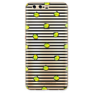 For Case Cover Pattern Back Cover Case Lines / Waves Fruit Soft TPU for Huawei Huawei P10 Plus Huawei P10 Lite Huawei P10 Huawei P9