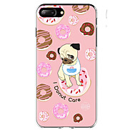 For Case Cover Ultra-thin Pattern Back Cover Case Dog Food Soft TPU for Apple iPhone X iPhone 8 Plus iPhone 8 iPhone 7 Plus iPhone 7