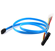 cheap -Hard Disk  SAS Cable 29P to 1* SATA 7P Cable 70cm