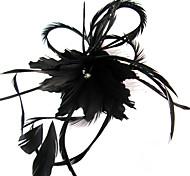 Женский Перья Заставка-Свадьба Особые случаи На каждый день на открытом воздухе Вуалетки Цветы