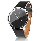 Недорогие -Жен. Модные часы Нарядные часы Кварцевый PU Группа минималист Черный