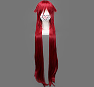 Недорогие -Косплэй парики Тёмный дворецкий Grell Sutcliff Аниме Косплэй парики 90 См Термостойкое волокно Муж.