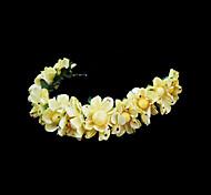 Women's Flower Girl's Paper Headpiece-Wedding Special Occasion Headbands Flowers