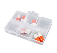 cheap -Travel Pill Box/Case Rectangular Portable for Travel Accessories for Emergency