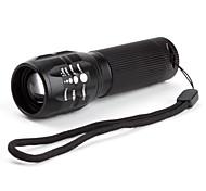 LED Flashlights / Torch Handheld Flashlights/Torch LED 600 lm 3 Mode Cree XR-E Q5