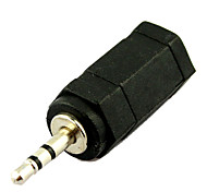 3.5mm Femmina jack a 2.5mm maschio convertitore adattatore audio spina