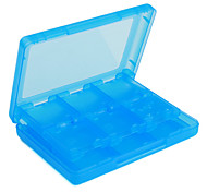 28-in-1-Storage-Spielkarte Fällen für NDSi, DS Lite und 3ds (blau)