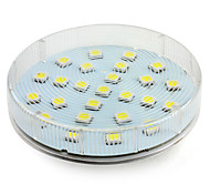 cheap -4W 180-250 lm GX53 LED Spotlight 25 leds SMD 5050 Natural White AC 220-240V