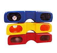 яркие цвета очки стиля портативных биноклей ночного видения (случайный цвет)