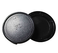 FD Camera Body & Rear Lens Cap for Canon A1 AE-1 Program AV-1 AL-1 F1 T50 T70