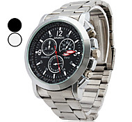 Men's  Watch Quartz Casual Wrist Watch Alloy Band Fashion Watch Cool Watch Unique Watch