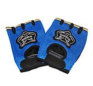 полиэстер + нейлон ветрозащитные перчатки велосипедные 1/2 пальца