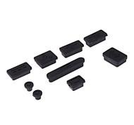 Недорогие -Набор противопылевых заглушек для MacBook Air и Pro (разные цвета)