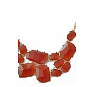ожерелье из неравномерной формы из акрилового сплава классический женский стиль