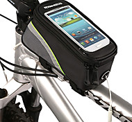 cheap -ROSWHEEL Bike Frame Bag Cell Phone Bag 5.3 inch Waterproof Waterproof Zipper Touch Screen Cycling for iPhone 8/7/6S/6