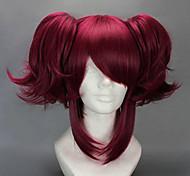 Cosplay Perücken Black Butler Merlin Rot Kurz Anime Cosplay Perücken 40 CM Hitzebeständige Faser Frau
