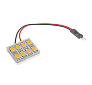 Недорогие -Фестон T10 BA9S Автомобиль Теплый белый 1,5 Вт SMD 5730 2800-3300 Лампа для чтения