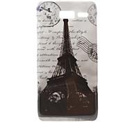 Eiffel Tower Pattern Hard Case for Moto RAZR I XT890 Cases / Covers for Motorola