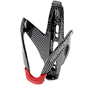 cheap -Water Bottle Cage Lightweight Materials, Convenient Cycling / Bike / Road Bike / Mountain Bike / MTB Carbon Fiber Black