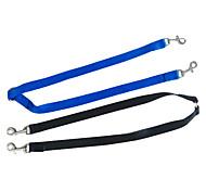 cheap -Dog Leash Dual/Double Nylon Black Blue