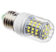 cheap -3W 6500 lm E26/E27 LED Corn Lights 60 leds SMD 3528 Natural White AC 110-130V AC 220-240V