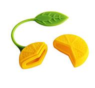 Lemon Design Tea Herb Filtro infusor filtro Chá (cor aleatória)