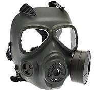 Недорогие -Череп Стиль Gas Mask для наружной Военные игры - Army Green