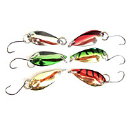cheap -Fishing Hook Specially for Weever with Colorful Lure(2.5g, Color Ramdon)