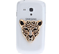 cheap -For Samsung Galaxy Case Rhinestone / Transparent / Pattern Case Back Cover Case Animal PC Samsung S3 Mini