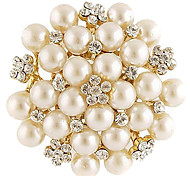 cheap -Women's - Fashion Brooch White For Daily