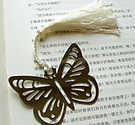 hueco-hacia fuera marcador mariposa de metal