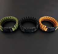 Outdoor Camping 7 Core Survival Rope Bracelet With Buckle