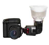Blitzlicht Diffuser für Canon 550EX P4 580EX II 2 Farbe Dome