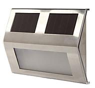 3-х светодиодных Белый солнечных батареях свет лампы Сад Двор пути прохода лестницы автоматическое освещение