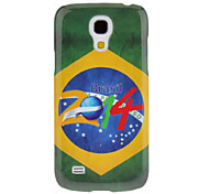 cheap -For Samsung Galaxy Case Pattern Case Back Cover Case Flag PC Samsung S4 Mini
