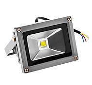 LED Floodlight 720-800 lm Cold White 6000-6500 K Sensor AC 100-240 V