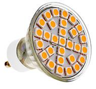 GU10 LED Spotlight 29 leds SMD 5050 Warm White 390-430lm 3000K AC 220-240V
