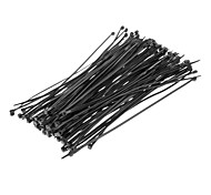 Cable Tie 200mm * 4mm Negro 100 piezas