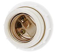 cheap -E27 Droplight Ceramic Lamp Holder (White) High Quality Lighting Accessory