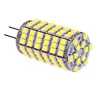G4 LED Corn Lights T 118 leds SMD 5050 Cold White 400lm 5500-6500K DC 12V