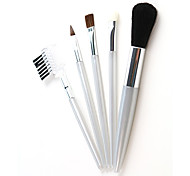 5 Makeup Brushes Set Others / Goat Hair Face / Lip / Eye Cosmetic Beauty Care Makeup for Face
