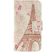 Beautiful Flowers and Eiffel Tower Pattern Case For iPhone 7 7 Plus 6s 6 Plus SE 5s 5c 5 4s 4