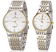 Women's Fashion Watch Wrist watch Dress Watch Simulated Diamond Watch Quartz Imitation Diamond Stainless Steel Band Gold