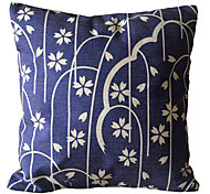 Shower Flowers Decorative Pillow Cover